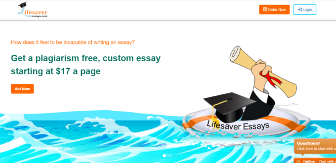 lifesaveressays com review essay writing service reviews lifesaver essays it s a pretty interesting concept the website has that summer vibe you see slides of beaches and a life saver ready to help